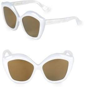 Gucci 53MM Butterfly Sunglasses