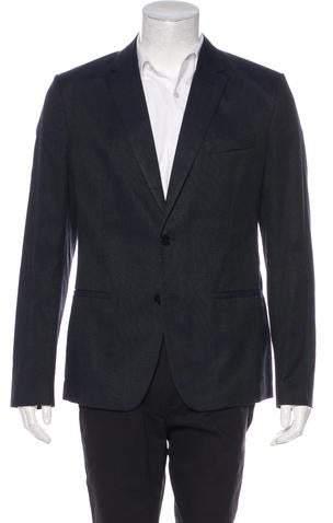 Maison Margiela Woven Two-Button Sport Coat