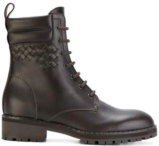 Bottega Veneta espresso calf boot