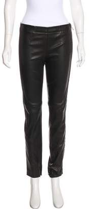 Kaufman Franco Kaufmanfranco Mid-Rise Leather Pants w/ Tags