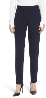 BOSS Tilunana Pinstripe Suit Trousers