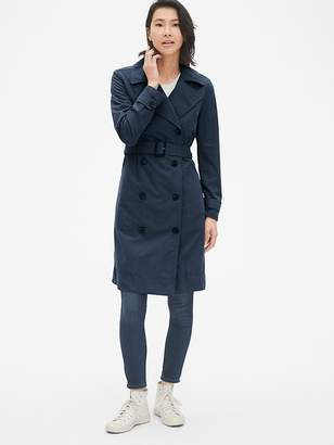 Gap Longline Trench Coat
