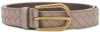 Bottega Veneta Intrecciato buckle belt
