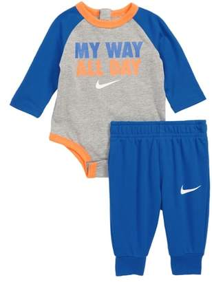 Nike My Way All Day Bodysuit & Pants Set