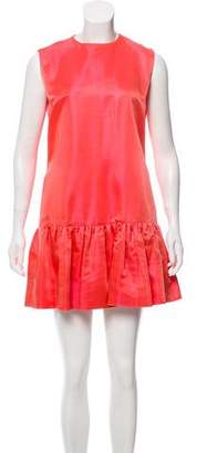 Pierre Balmain Sleeveless Pleated Dress
