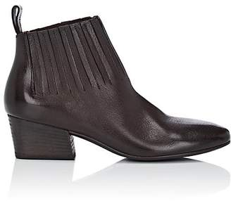 Marsèll Women's Gore-Detailed Leather Ankle Boots