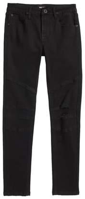 Hudson Theo Moto Slim Jeans