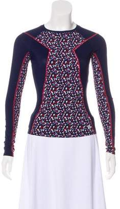 Tory Sport Long Sleeve Active Top