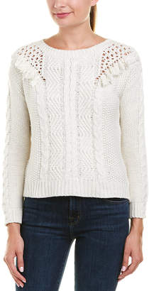 Ella Moss Multi-Knit Wool-Blend Pullover