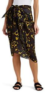 Eres Women's Edgar Floral Cotton Sarong - Black Pat.