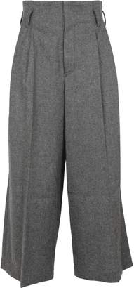 Y's Ys Cut-out Detail Trousers