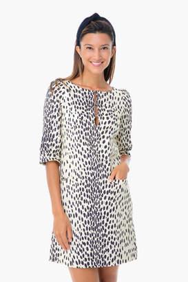 Emerson Fry Leopard Linen London Dress