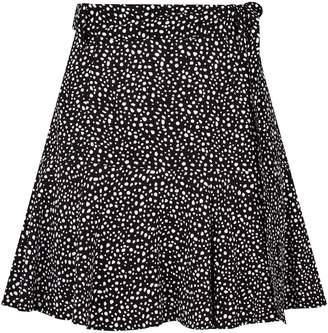 AllSaints Frida Splash Mini Skirt