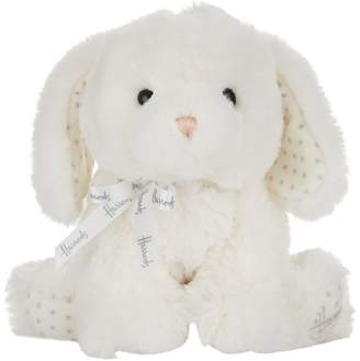 Harrods Soft Puppy Rattle