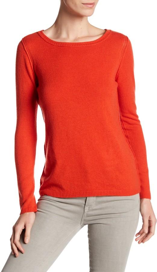 In Cashmere Cashmere Open-Stitch Pullover Sweater 30