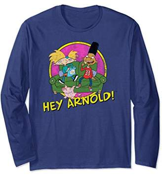 Nickelodeon Hey Arnold and friends Long Sleeve T-shirt