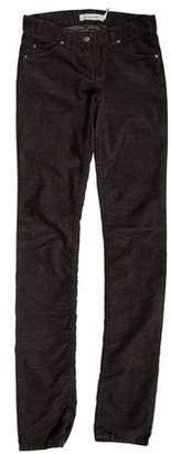 Etoile Isabel Marant Low-Rise Corduroy Pants