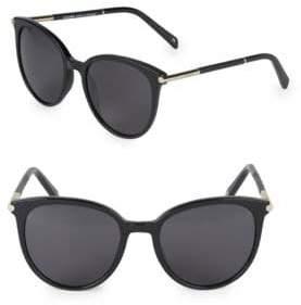 Balmain 55MM Round Cat-Eye Sunglasses