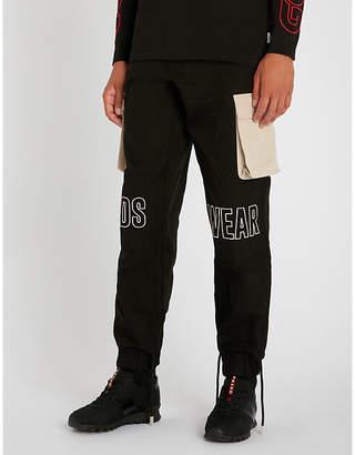 GCDS Cargo cotton trousers