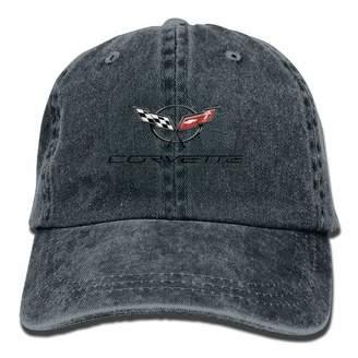 05c8f2b081d WiNjTyMOYO Corvette Unisex Baseball Cap Trucker Hat Adult Cowboy Hat Hip  Hop Snapback