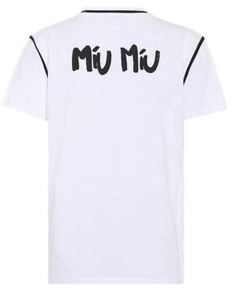 Miu Miu Cotton T-shirt