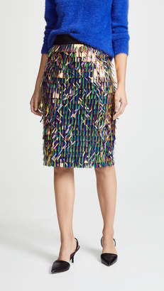 Milly Matchstick Pencil Skirt