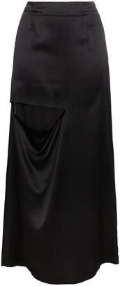 J.W.Anderson long slit silk skirt