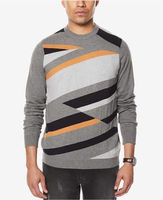 Sean John Men's Intarsia Knit Sweater, Created for Macy's