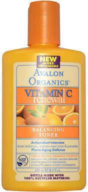 Avalon Organics Vitamin C Balancing Facial Toner 250.75 ml Skincare