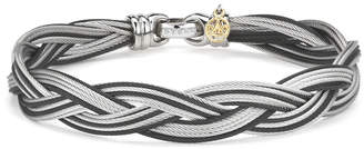 Alor Noir 18K & Stainless Steel Cable Bracelet