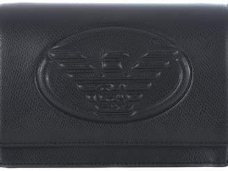 Emporio Armani Front Logo Crossbody Bag