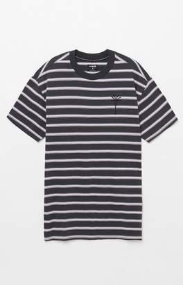 Hurley Port City Mock Striped T-Shirt