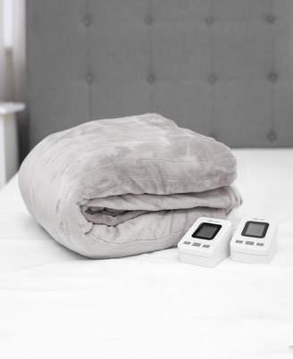 SensorPEDIC King Warming Blanket with Two Digital Controllers Bedding