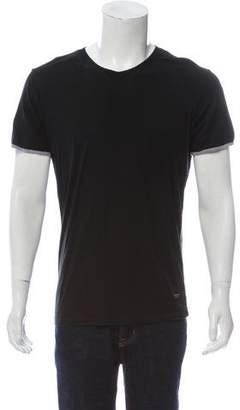 Calvin Klein Collection Contrast Trim T-Shirt