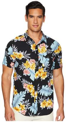 Roark Blush Doctor Woven Shirt Men's Short Sleeve Button Up