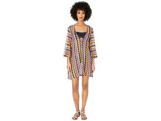 fe6a4ca165 Missoni Mare Iconic Zigzag Tunic Top Cover-Up