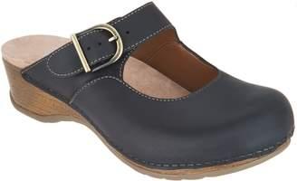 Dansko Leather Mary Jane Mules - Martina