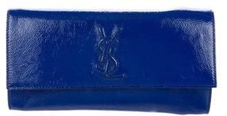 Saint Laurent Patent Leather Belle de Jour Clutch