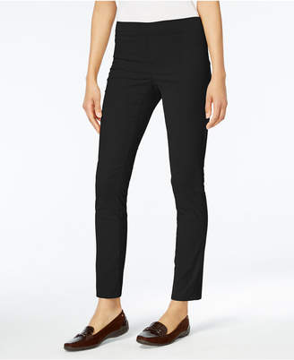 Karen Scott Petite Corduroy Pull-On Pants