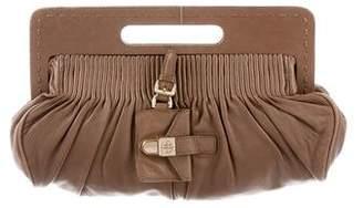 HUGO BOSS Grain Leather Clutch
