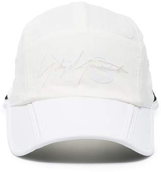 Y-3 Foldable logo embroidered cap