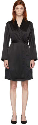 La Perla Black Silk Robe