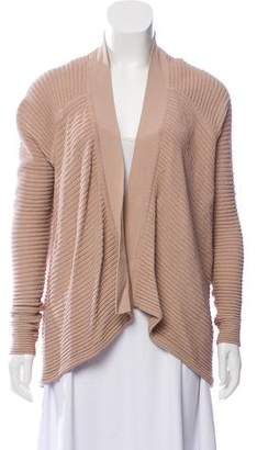 Kaufman Franco KAUFMANFRANCO Knitted Open Front Cardigan