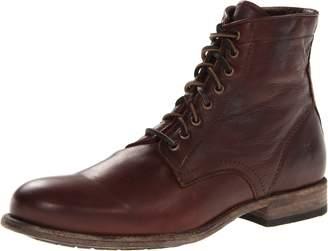Frye Men's Tyler Lace Up Combat Boot, Cognac