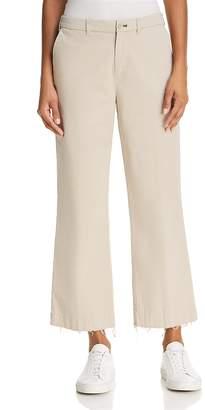 ATM Anthony Thomas Melillo Raw-Edge Cropped Flared Pants