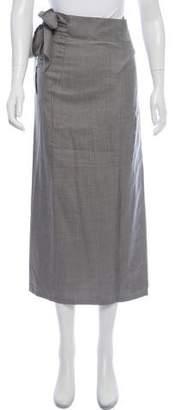 Calvin Klein Collection Silk Midi Skirt