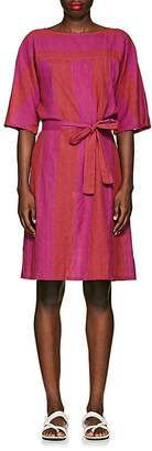 Ace&Jig Women's Elenor Striped Cotton Tie-Waist Dress