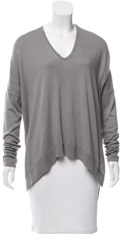 Helmut LangHelmut Lang V-Neck Long Sleeve Sweater w/ Tags