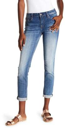 Vigoss Medium Wash Cuffed Jeans