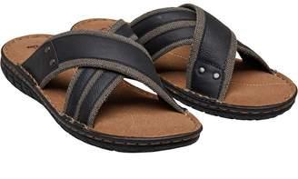 db8c63ac61bc5 Men Cross Strap Sandals - ShopStyle UK